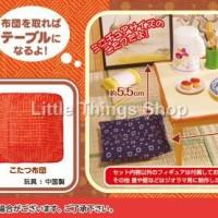harga Re-ment Kotatsu Japanese Table Chair Tokopedia.com