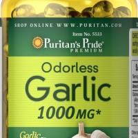 Puritan Pride Odorless Garlic 1000 mg - 250 tabs
