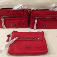 Tas Fossil Dawson Red Crossbody
