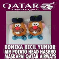 BONEKA KECIL YUNIOR MR POTATO HEAD HASBRO FROM QATAR AIRWAYS