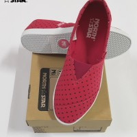 North Star 5199 - Sepatu Flat Wanita Canvas Casual Pink