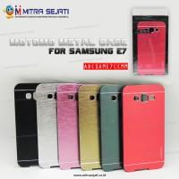Samsung Galaxy E7 Case Cover Motomo Metal (abcsame7ccmm)