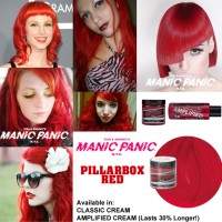 CLEARANCE SALE - Manic Panic Pillarbox Red (Amplified)