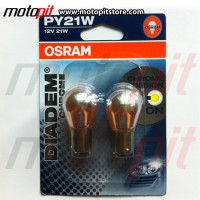 Osram Diadem Chrome PY21W Lampu Sein