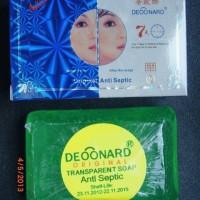 SABUN DEOONARD BIRU / Blue Deonard (Kemasan Biru, Sabun Batangan Hijau