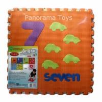 Mainan anak - matras/alas lantai Puzzle Evamats Angka Gambar