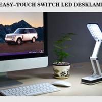 Lampu Meja Lipat 24 LED / Foldable Rechargeable Desk Lamp YT-666