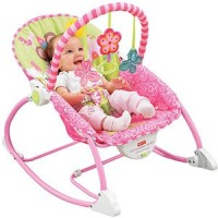 BOUNCER FISHER PRICE INFANT TO TODDLER ROCKER - PINK