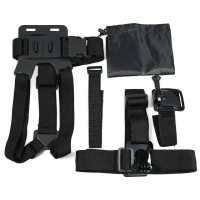 5-in-1 Action Camera Accessories Kit Chest Strap, Head Strap Dll