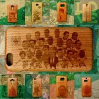 Wood Case dengan Ukiran Custom | Desain Gravir dikirim via email