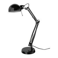IKEA FORSA Lampu Kerja - Hitam