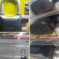 ALARM PADLOCK . Gembok Alarm untuk MOTOR dan Pintu Gerbang