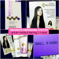 [ box ungu ] Dry / Damage Hair Makarizo Rebonding System