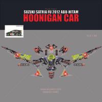Sticker striping motor stiker Suzuki Satria FU Hoonigan SPEC B