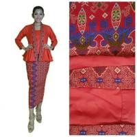Batik Wanita | Batik Kerja | Rok N Blouse Batik | Batik Luna Panjang