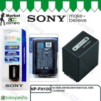 Battery Sony NP-FH100 for DCR-HC21/HC48, DCR-SX40/SX41, HDR-XR100