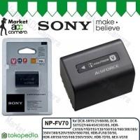 Battery Sony NP-FV70 for HDR-CX105/CX110/CX115/CX130/PJ10/PJ30/PJ50