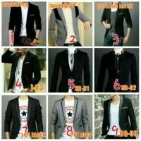 Jual blazer pria, ala korea, murah, gaul, keren, casual, semi formal Murah