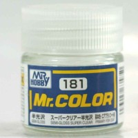 Mr Color C 181 SEMI GLOSS SUPER CLEAR - Gundam model kit paint