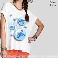 SLANK BUBBLE - Kaos 3D Umakuka Bandung Ladies Sabrina