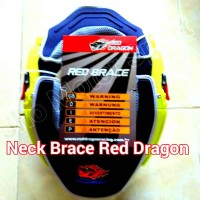 Neck Brace Red Dragon
