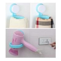Tempat Hair Dryer Serbaguna - Hair Dryer Rack
