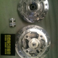 Tromol Set Dpn / Blk PNP Honda Sonic 150 + Bosing & Laher