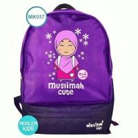 tas anak muslim ransel lucu moslem kids