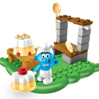 LEGO MEGA BLOKS THE SMURFS - 10702 Baker Smurf