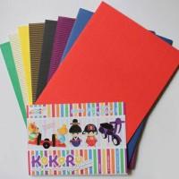 KoKoRu Hachiro A4 / Paper Craft / Color Corrugated Paper