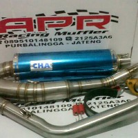 Knalpot Merk CHA For Satria Fu dan All Matic Las Argon (PNP)
