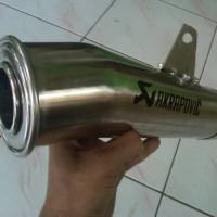 Akrapovic Mega + Slipon buat Segala Motor 4tak