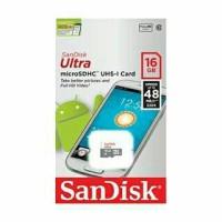 memory sd card sandisk 16GB kelas 10