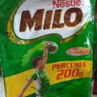 Nestle Milo Activ-Go Malaysia Minuman Malt Coklat 2kg Refill