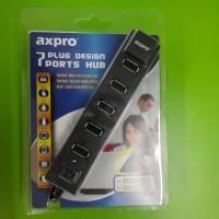 harga USB HUB AXPRO 7 PORT + ADAPTOR Tokopedia.com