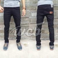 Celana Jeans April Skinny Black