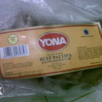 Jual Daging Burger Beef Yona  - Yona Patties - Daging Burger Yona  Murah