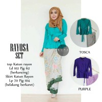 royosa set ori / set kebaya hijab