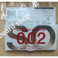 Sagami Original 0.02 Non Latex Condom, Kondom