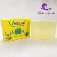 Sabun Temulawak V Natural / V Natural Temulwak Soap / Sabun Temulawak