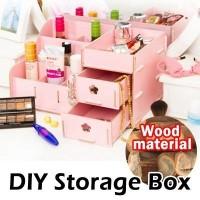 Desktop Cosmetic Storage Big Size / Cosmetic Storage Besar