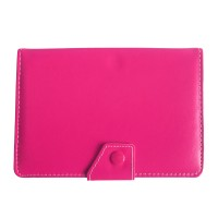 Mediatech Universal Leather Case 7 inch Tablet 02 Pink