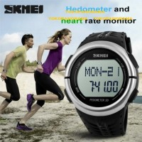 SKMEI HEART RATE MONITOR PEDOMETER