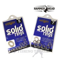 Hammer Head Solid Ring Stainless Steel