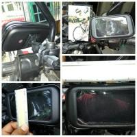 """Holder Stang atau Spion Sepeda Motor untuk HP / GPS Splashproof 5"""""""