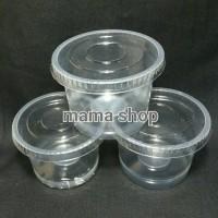 Cup Puding Es Cream Es krim Jelly Jeli Agar Agar Gelas Plastik kecil