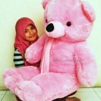 Boneka Teddy Bear Pink Super Jumbo (teddybear)