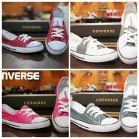 sepatu converse low wanita / flat shoes women / sepatu casual SEKOLAH