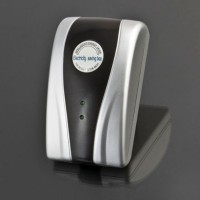 Electricity Power Saving EU Plug - Black / Silver