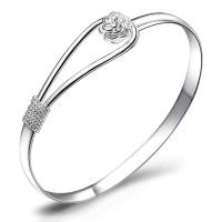 Romantic Flower Bracelet 925 Sterling Silver / Gelang Wanita